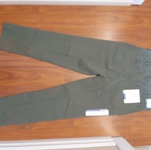 NWT IZOD mens saltwater stretch straight fit chino